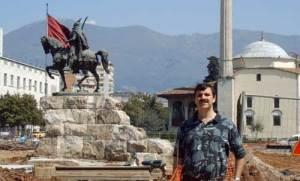 Greg Byrd in Albania