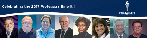 Professors Emeriti 2017